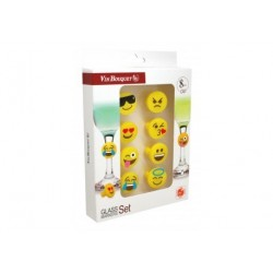 Emoticons glass markers