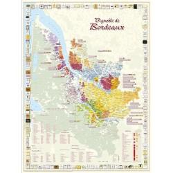 Map Bordeaux Vineyards