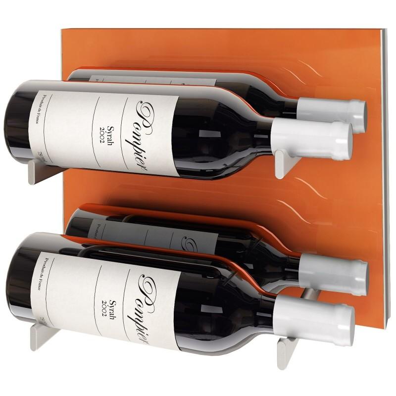 Stact L Orange & Blanc