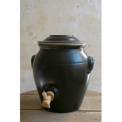 Vinegar Pot Black 3.0 l