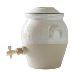 Vinegar pot white 4.7 l