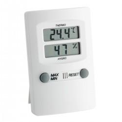 Thermo-Hygrometer White